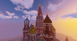 Saint Basil's Cathedral Moscow, Russia Minecraft Map & Project