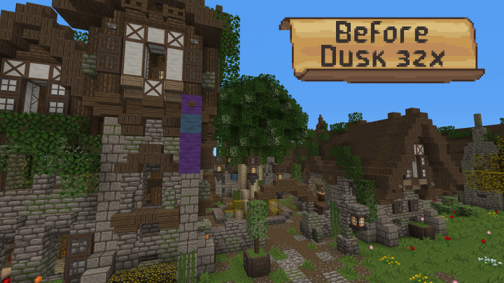 Before Dusk [32x] V2 1 (Medieval and Rustic) [1 13+] Minecraft