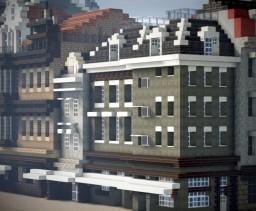 Vlasmarkt Hotel, Rotterdam, Netherlands Minecraft