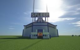 Spleef Stadium Minecraft Map & Project