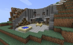 Villa Vals Inspired Underground Home Minecraft Map & Project