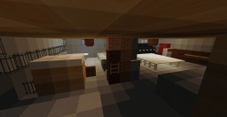 Interior of Homes In Furnished Minecraft Map & Project