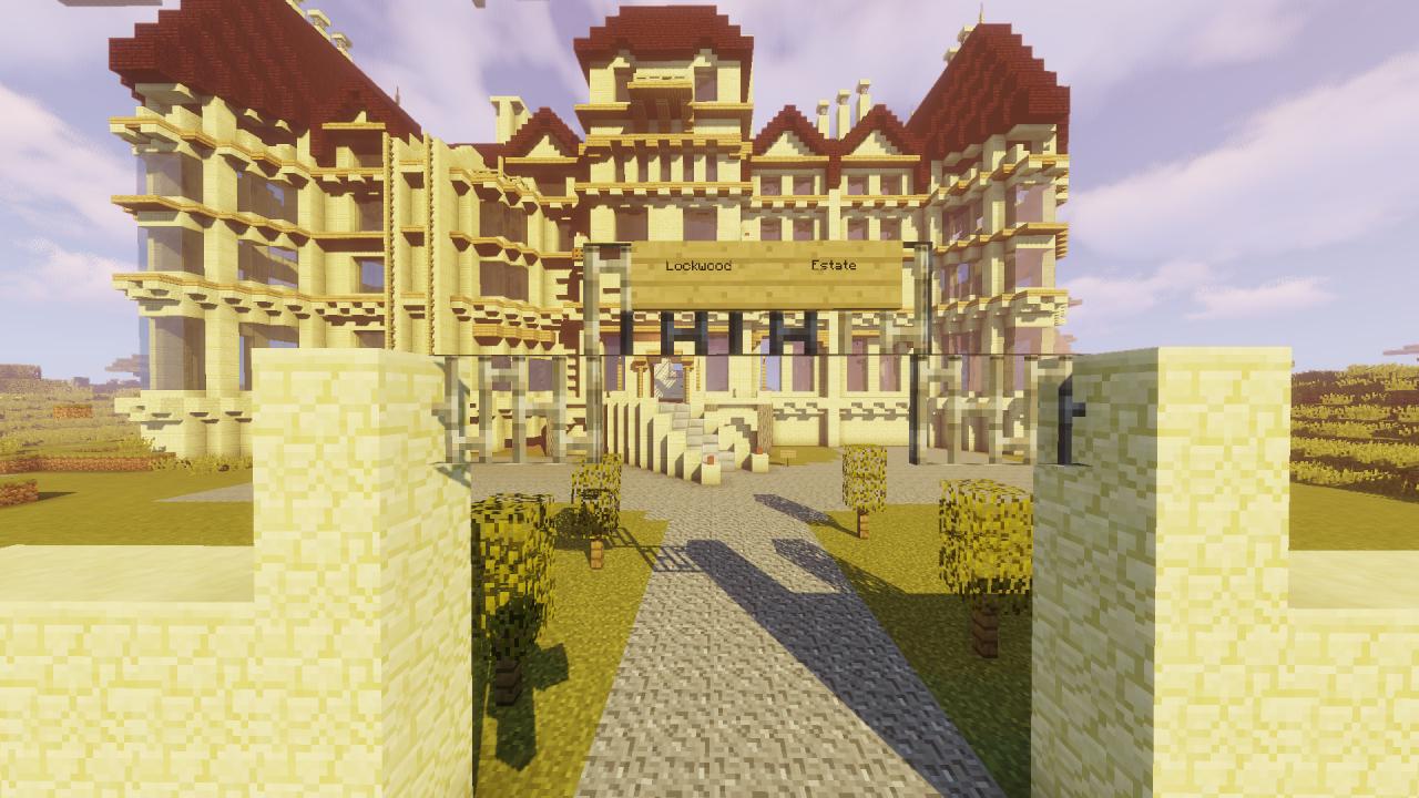 jurassic world fallen kingdom  lockwood estate minecraft