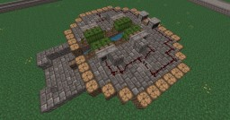 Free to use - Light Sensor Melon Farm (fully automatic) Minecraft Map & Project