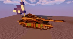 Israel Defence Forces: Merkava (Tank) Minecraft Map & Project