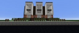 Modern Row Apartment 2 + Schematic Download Minecraft Map & Project