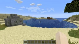 This seed have an on land ruin and on land shipwreck Minecraft Blog