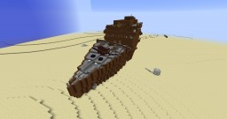 Samanta Wreck (without water) Minecraft Map & Project