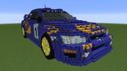 1997 Subaru Impreza WRC Minecraft