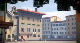 Piazza del Luogo Pio, Livorno, Italy Minecraft Map & Project