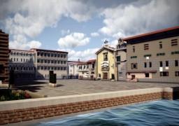 Piazza del Luogo Pio, Livorno, Italy Minecraft