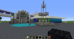 Walt Disney World- Space Mountain Minecraft Map & Project