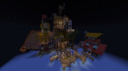 The Pirate's Domain - Survival Spawn Minecraft Map & Project