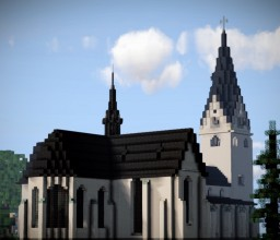 Evangelische Kirche Gummersbach, Gummersbach, Germany Minecraft Map & Project