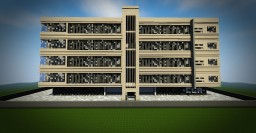 CGA Residential Building (Appartment Building) Minecraft Map & Project