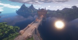 Fortified bridge (full interior and download) Minecraft