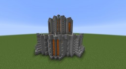 Siliconia Exterior Corner Wall Minecraft Map & Project