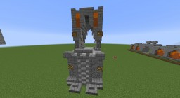 Siliconia Short Tower Wall Minecraft Map & Project