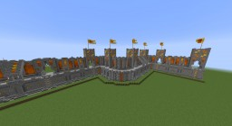 Siliconia Walls World Minecraft Map & Project