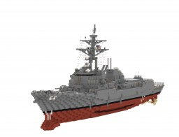 USS Momsen (DDG-92) Minecraft Map & Project