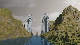 Argonath - The Pillars of Kings Minecraft Map & Project