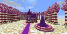 Princess Bubblegum's Candy Cottage Minecraft Map & Project