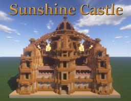 Sunshine Castle - Tiny Castle 64x64 contest entry Minecraft Map & Project
