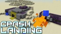Crash Landing : Earth 1.7.10 Minecraft Map & Project