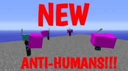 Superhuman Dimension and Powers Mod [UPDATE v3.0 New Anti-Human Mob] Minecraft Mod