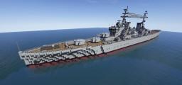 HMS Minotaur ZA4 Variant Minecraft Map & Project