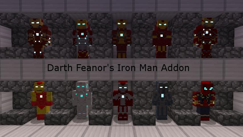 Discontinued] Iron Man Addon for Lucraft Minecraft Mod