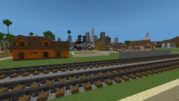 Los Angeles seen through eihort Minecraft Map & Project