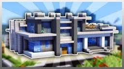 Big Modren House Minecraft Map & Project