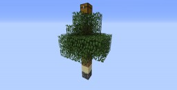 One Block Survival Minecraft Map & Project