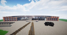 Cheyenne, Wyoming style Roundhouse Minecraft Map & Project