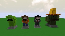 Statues Minecraft Map & Project