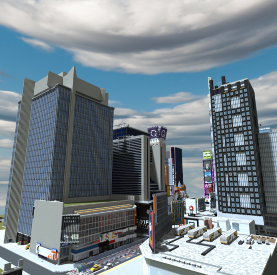 Times Square overview