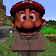 Mario Teaches Villagers (JAVA & BEDROCK) Minecraft Texture Pack