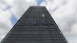 Solo Project - 1980s Office skyscraper [FULL INTERIOR] Minecraft