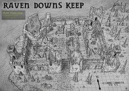 Ruined Keep Minecraft Map & Project