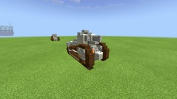 (Ww1) French Renault FT 17 light tank Minecraft
