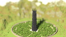 Tower of Orthanc (Isengard) Minecraft Map & Project