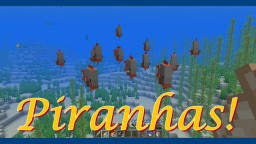 Piranhas Datapack & Fishes+ [1.13] Minecraft Data Pack