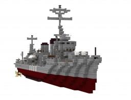IJN Yukikaze Minecraft