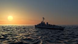 USS Allen M. Sumner-class destroyer Minecraft