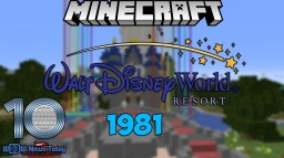 Walt Disney World - (1981) Minecraft Map & Project