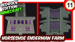 Horseshoe Enderman Farm Minecraft Map & Project