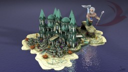 Project Rossignol: The city of Athens facing the city of Atlantis Minecraft Map & Project