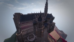 Elven City medieval castles Minecraft Map & Project