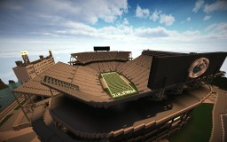 Beaver Stadium (Penn State University) Minecraft
